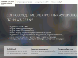 Аккредитация на электронных площадках в рамках 223-ФЗ