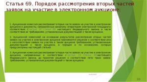 Порядок подачи заявок на участие в электронном аукционе по 44-ФЗ