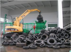 Утилизация автомобильных покрышек