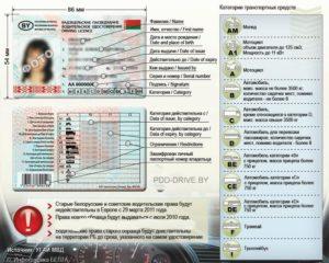 Как расшифровываются категории водительского удостоверения нового образца