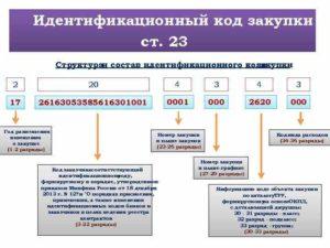Идентификационный код закупки: что это и где его указывать