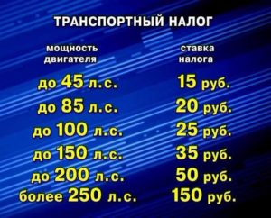 Какой транспортный налог на 150 л. с.