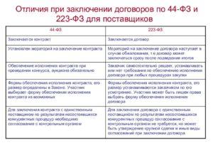 Заключение контракта по 44-ФЗ: порядок, новые требования, образец