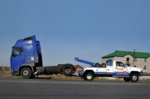 Как эвакуируют грузовые автомобили