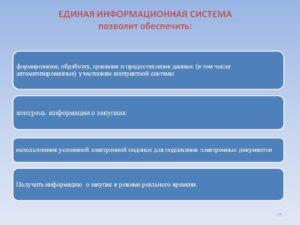 Единая информационная система (ЕИС): порядок работы и преимущества