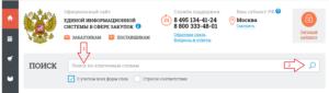 Сайт закупок по 44-ФЗ zakupki.gov.ru