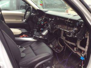 Попытка угона автомобиля