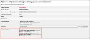 Заявка на электронный аукцион: образец, подача, рассмотрение
