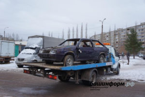 Как эвакуируют брошенные автомобили