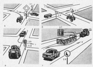 ПДД при движении самоходных машин