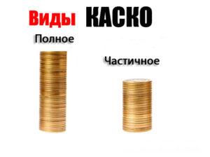 Страхование частичное КАСКО