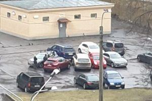 Примеры ДТП на парковках