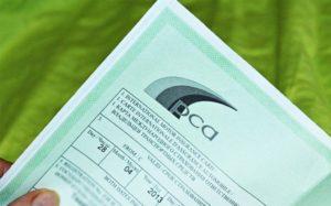 Зеленая карта на автомобиль в Ресо
