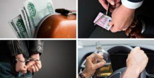 Лишение водительских прав за вождение в состоянии опьянения в 2019 году
