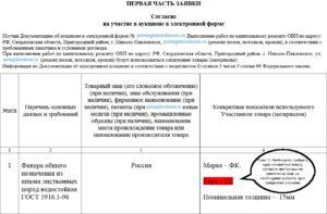 Отклонение заявки на электронный аукцион по 1 части по 44-ФЗ