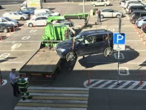 Особенности эвакуации автомобиля с места для инвалидов