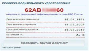 Как проверить водительское удостоверение на лишение по базе ГИБДД