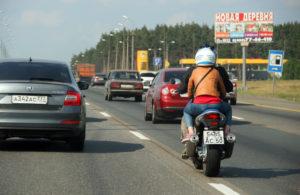 Езда на мотоцикле по ПДД
