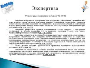 Как оформить результаты экспертизы контракта в рамках 44-ФЗ
