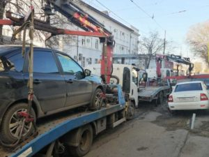 Что делать при эвакуации автомобиля на штрафстоянку