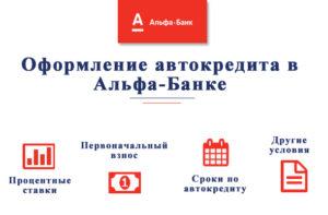 Автокредит от Альфа банка