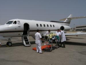 Авиаперевозка больных