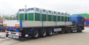 Перевозка газовых баллонов автотранспортом