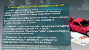 Кто имеет льготы по уплате транспортного налога в Москве