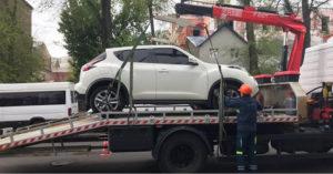 Какой штраф за эвакуацию автомобиля в 2019 году в СПб