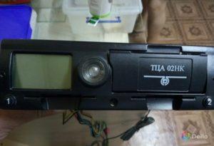 Как работать с тахографом ТЦА-02НК