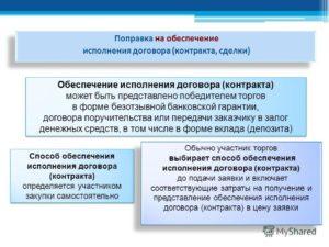 Договор поручительства как способ обеспечения исполнения государственного или муниципального контракта