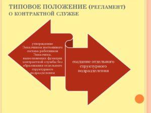 Типовое положение (регламент) контрактной службы