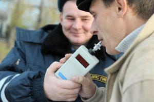 Освидетельствование водителя на состояние алкогольного опьянения