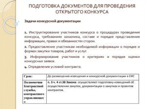 Документация для тендера: какие документы подготовить участнику