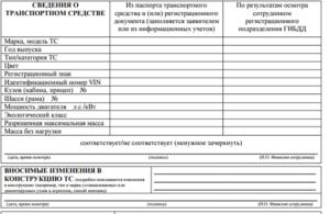 Оформление заявления на осмотр ТС в ГИБДД