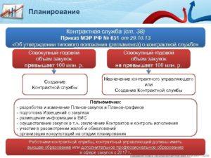 Функции и обязанности контрактной службы по 44-ФЗ