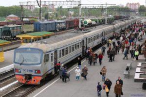 Перевозка пассажиров России железнодорожным транспортом