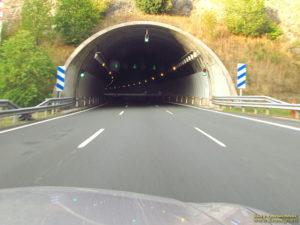 Обгон в тоннеле