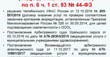 Закупка одноименных товаров по п.4.ч.1.ст.93 Закона 44-ФЗ