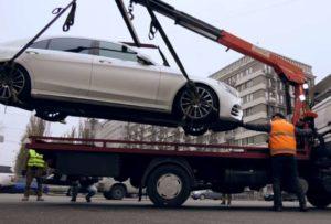 Размеры штрафов за эвакуацию автомобиля в 2019 году в Москве