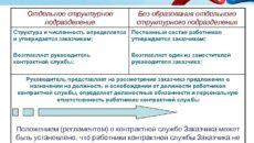 Создание контрактной службы без образования отдельного структурного подразделения