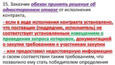 Изменение и расторжение госконтракта по ст. 95 44-ФЗ