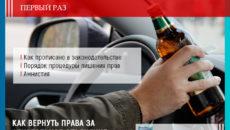 Как проходит амнистия лишенных прав за алкогольное опьянение
