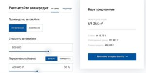 Как взять автокредит в Газпромбанке