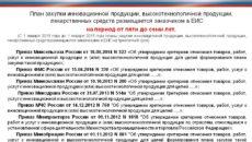 Перечень инновационной продукции по 44-ФЗ