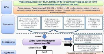 Проверка заказчиков по 223-ФЗ на предмет участия субъектов МСП