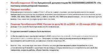 Решения ФАС по жалобам 44-ФЗ